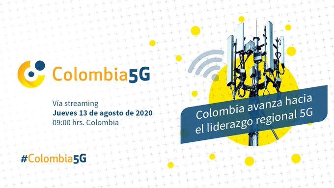 #Colombia5G – Propuestas de las mujeres TIC para impulsar la conectividad